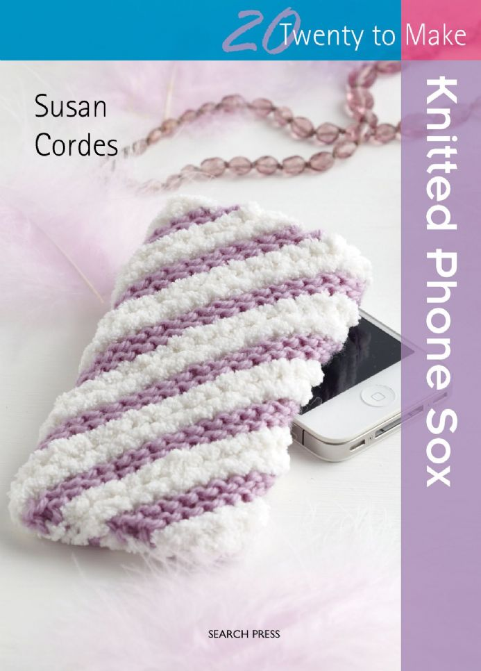 Twenty to Make: Knitted Phone Sox